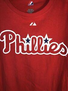Majestic Philadelphia Phillies - Howard #6 - Size L
