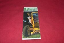 International Harvester Cub Cadet 71 102 122 Tractor Dealer's Brochure YABE16