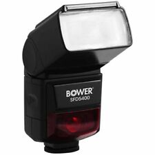 Bower SFD5400 Digital Autofocus Flash for Nikon i-TTL & Canon E-TTL DSLR Camera