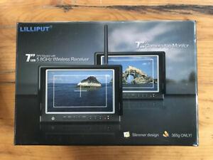 "Lilliput 664/W - 7"" Camera-top/FPV Monitor (wireless)"