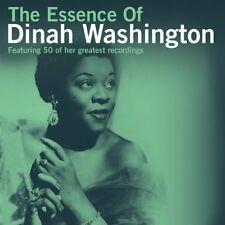 THE ESSENCE OF DINAH WASSINGTON NEW 2 CD SET 50 GREATEST HITS BEST OF