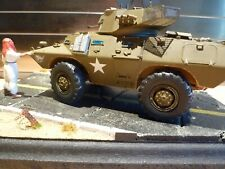 1/35  Middle eastern, U.S. Armored car Diorama, built, excellent standard.