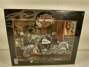 FX Schmid Harley-Davidson 1000 Piece Puzzle Catch of the Day # 81539