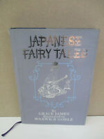 Green Willow & Other Japanese Fairy Tales Grace James, Warwick Goble 1979 HB D36
