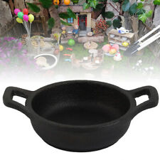 Cast Iron Mini Fry Frying Pan Skillet Oven Kitchen Cooking Non Stick Frying Pot