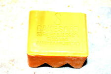 STEINER SALES CO CHICAGO IL TOILET CAKE SOAP UNSCENTED COLLECTIBLE NFB