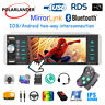 "1Din RDS AM FM 4-USB BT 5.1"" Mp5 Player AI Smart Voice Android 10 iOS Mirrorlink"