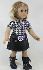 "Lovvbugg Rock Star Dress for 18"" American Girl Doll Clothes CUTE STUFF!"