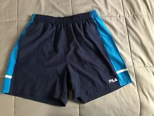 3baa5c5cc975 Men s FILA Workout Shorts Navy blue Size L Standard Delivery