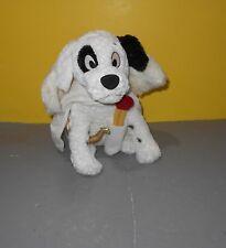 "Disney Store 101 Dalmatians Cupid Angel Patch Puppy Dog Stuffed 12"" Plush Lovie"