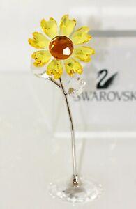 Swarovski Original Figurine Blumenträume Sunflower 5490757 New with Packaging
