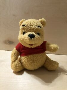 VINTAGE 1998 Mattel Winnie The Pooh Sing 'N Giggle Pooh Stuffed Animal Toy WORKS
