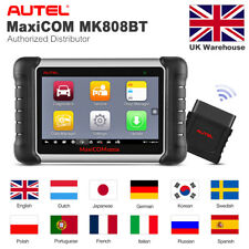 Autel MK808BT Auto Bleed ABS Brakes System injector EPB Diagnostic Scanner Tool
