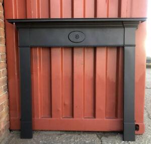 Edwardian cast iron fire Surround suit Woodburner, fireplace, Delivery 🚚 £35 Uk