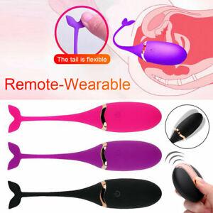 Remote-Control-Wearable-Bullet-Egg-Vibrator-G-Spot-Massager-Adult-Women-Sex-Toys