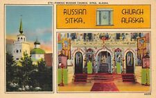 Russian Church Sitka Alaska Naval Censor Cancel ALSK 263