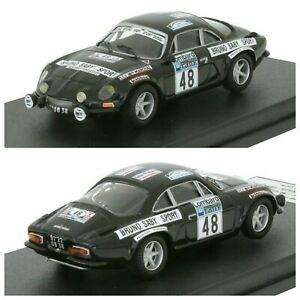 1/43 Trofeu Renault Alpine A110 N°48 Saby/Guegan Rallye RAC 1978 Livrais Domicil