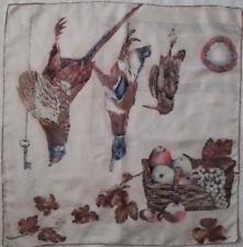 -Superbe Foulard    soie TBEG  vintage scarf  60 x 60 cm