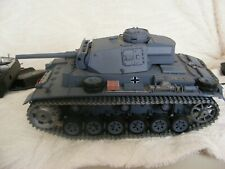 remote control tanks henglong x 2 joblot