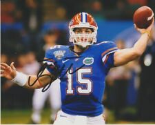 Tim Tebow authentic signed autographed 8x10 photograph holo COA