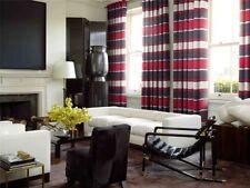 Rideaux et cantonnières rouge pour la maison, pas de offre groupée