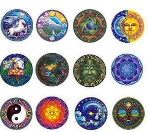 Mandala Art window Sticker sun moon dragonfly tree of life rainbow peel stick
