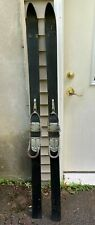 Vintage Wooden Skis - 63 Inches - Cable Bindings