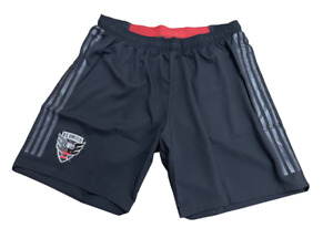 Adidas MLS D.C. United Athletic Shorts Black/Red Sz XL CE6284