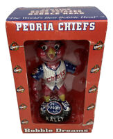 Peoria Chiefs Rally Redbird #00 Bobblehead SGA 2002 New IOB