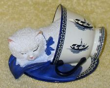 """Hamilton Poised Purr-Fection Collection """" Filled To The Meow """""""
