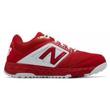 New Balance 3000 V4 Red Baseball Turf Shoe