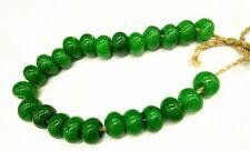 Chinese Collectible Green Jadeite Jade Rare Handwork Abacus Beads Bracelet