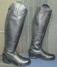 New listing Wmns ARIAT Volant S Tall Zip Black Leather Equestrian Boots sz 7 B