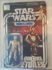 Vintage Kenner Canada Star Wars 1978 12 back-D C-3PO MOC w/ GDE Logo AFA 75+