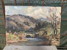 Tableau ancien impressionisme  de Toussaint RENSON (1898-1986) Liège (réf-1130)