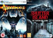hellgate london & shutter island  new&sealed