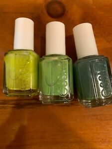 ESSIE NAIL POLISH 3 COLORS,VESTED INTEREST,THE MORE THE MERRIER,VICES VERSA NEW