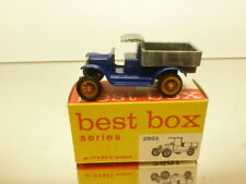 BESTBOX 2501 FORD model T 1919 PICKUP - BLUE L6.0cm - VERY GOOD CONDITION IN BOX