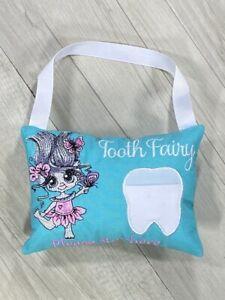 Tooth Fairy Pillow Troll Birthday Gift Keepsake Tooth Pocket Tooth Cushion