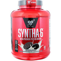 BSN  Syntha-6  Protein Powder Drink Mix  Cookies and Cream  5 0 lbs  2 27 kg