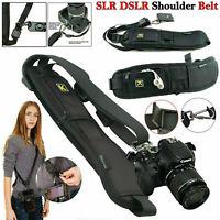 Quick Sling Camera Canon Sony Nikon Single Shoulder Belt Strap SLR DSLR Cameras
