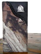 Rocky Western Mens Wallet Rodeo Mossy Oak Rocky Ram Concho Black RBW170