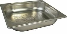 Stainless Steel 12 Size Perforated Gastronorm Pan Bain Marie Pot