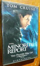 Minority Report Dvd 2003 Tom Cruise Action Steven Spielberg Classic Widescreen !