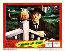 The Night of the Hunter Movie Poster (1955) Thriller/Drama