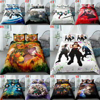 Anime My Hero Academia Single Double Queen King Bed Quilt Doona Duvet Cover Set