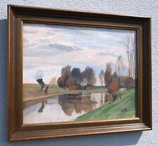 Hubert LANDA (1870-1938) Landschaft im April 1929.