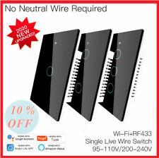 Versión 120 Wifi +RF433 sin conmutador inteligente neutral solo fuego vida inteligente/tu cuenta tambi demande App