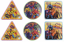 12 Super Hero Maze Puzzles - Pinata Toy Loot/Party Bag Fillers Wedding/Kids