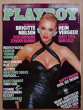 Playboy NL 2/1988, Brigitte Nielsen, Michael Jackson, Leentje Vermeire, White B